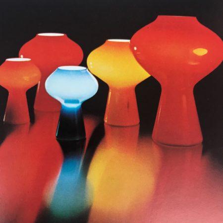 Fungo Lamp van Massimo Vignelli voor Venini Murano, 1956
