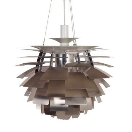 bruine vintage design arne jacobsen biljart hanglamp