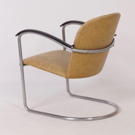 414 Buis Fauteuil van W.H. Gispen voor Gispen, 1960