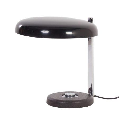 Oslo Bureaulamp Heinz PFAENDER van Hillebrand, 1960s – zwart | Vintage Design