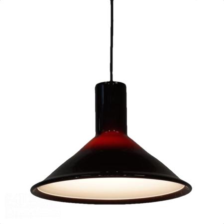 P&T Hanglamp van Michael Bang voor Holmegaard, 1970s   Vintage Design