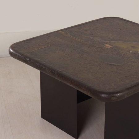 Paul Kingma Salontafel, 1989 – vierkant 80 cm