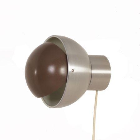 Radboud Wandlamp van Raak – Bruin, 1960s | Vintage Design