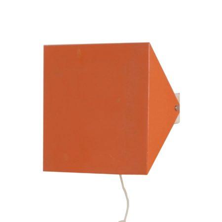 Doria Wandlamp van Wilhelm Braun Feldweg, 1962 – Zalmroze | Vintage Design