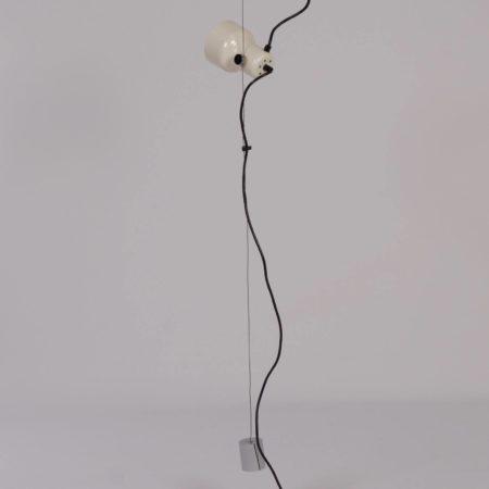 Gepo Hanglamp met Drie Witte Spots, 1970s