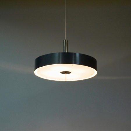 Hanglamp Model 266 van Louis Baillon voor Jacques Biny / Luminalite Edition – 1958