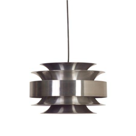 Aluminium Vintage Hanglamp van Lakro, 1960 | Vintage Design