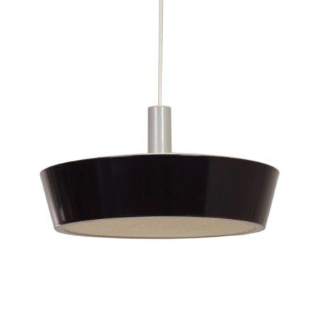 Grote Zwarte Hiemstra Evolux Wandlamp , 1960s | Vintage Design