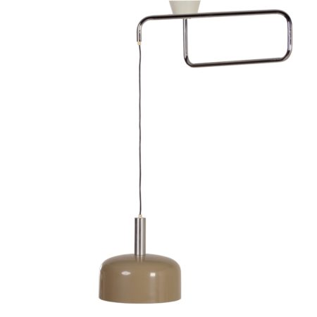 Hala Hanglamp met Zwenkarm, 1970 | Vintage Design