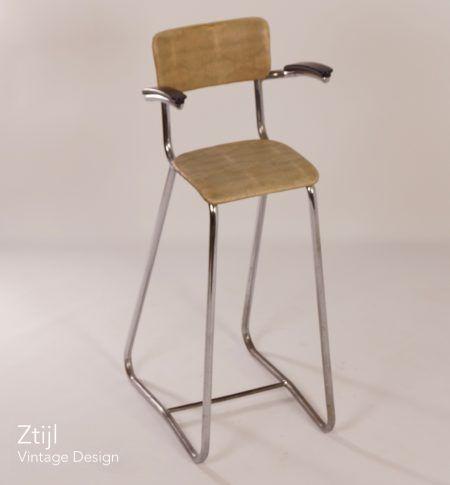 Vintage Kinder Kappersstoel, 1950s
