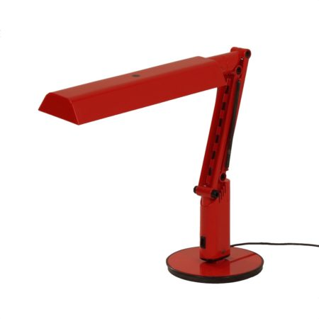 Rode Lucifer Bureaulamp door Fagerhults, 1970s | Vintage Design