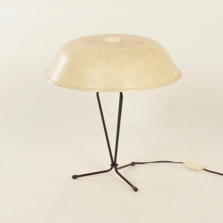 Glasvezel Tafellamp van Louis Kalff voor Philips, 1958