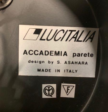 Uplighters van Sigeaki Ashara voor Lucitalia, Milano 1980s