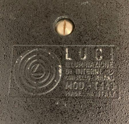 Tafellamp T443 van Mario Faggian voor Luci, 1970s