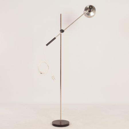 Aluminium Hengellamp van  J. Hoogervorst voor Anvia ,1960s