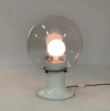 Glazen Design Tafellamp, 1970s