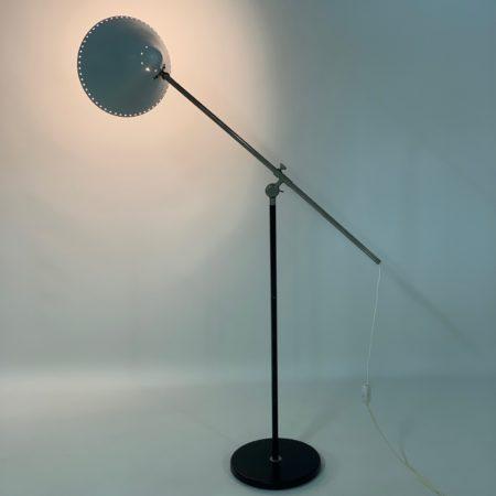 Witte Vloerlamp van Floris Fiedeldij voor Artimeta, 1950s