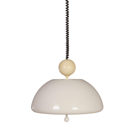 Saliscendi Hanglamp 1700 van Elio Martinelli voor Martinelli Luce, 1970s | Vintage Design