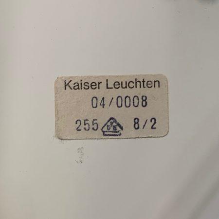 IJsglazen Wand- of Plafondlamp van Kaiser Leuchten, 1960s