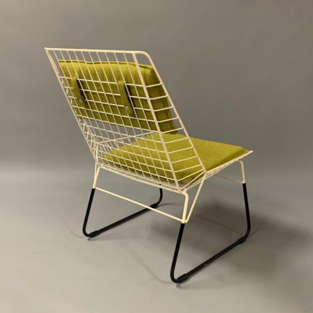 Flamingo Draadstoel van Cees Braakman voor Pastoe, 1960s