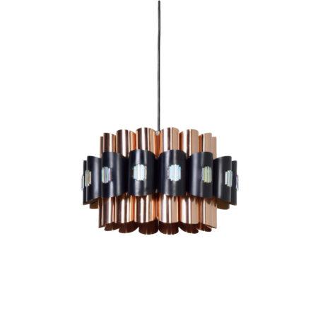 Deense Hanglamp van Werner Schou voor Coronell Elektro, 1970 | Vintage Design