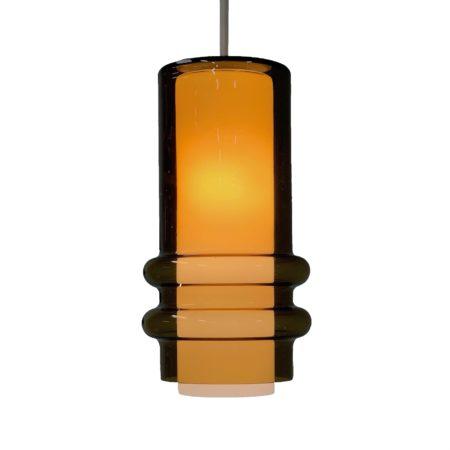 Glazen Cirkel Hanglamp van Jo Hammerborg voor Fog & Mørup, 1960s | Vintage Design