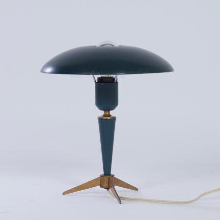 """Tripod Tafellamp """"Bijou"""" van Louis Kalff voor Philips, 1950s"""