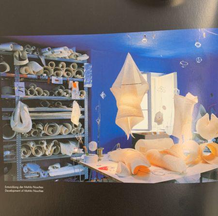 Alodri Tafellamp van Ingo Maurer, 1990s – Uit de MaMo Nouchies® Serie