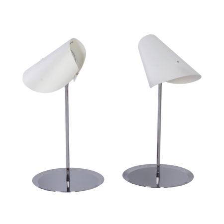 Reu Ferou Tafellampen van Man Ray, Editie Dino Gavina, 2000s – Set van Twee | Vintage Design