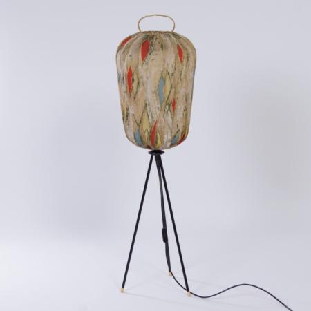 Vintage Tripod Vloerlamp Tegendraads Modern, 1950s