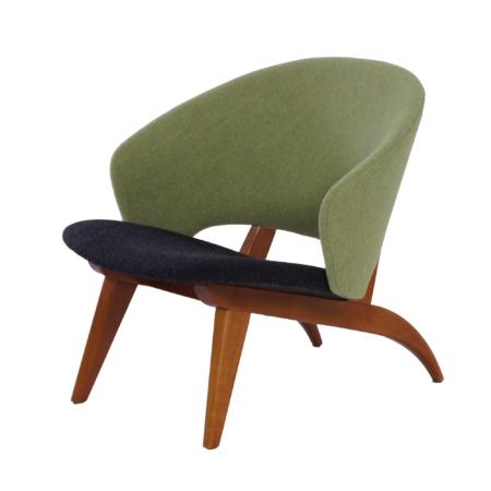 Organische Fauteuil van Theo Ruth voor Artifort, 1950s – Opnieuw Gestoffeerd. | Vintage Design