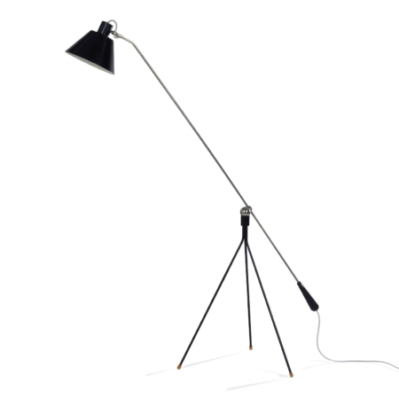 Magneto Vloerlamp van H. Fillekes voor Artiforte, 1950s – Zeldzame 1e Editie | Vintage Design