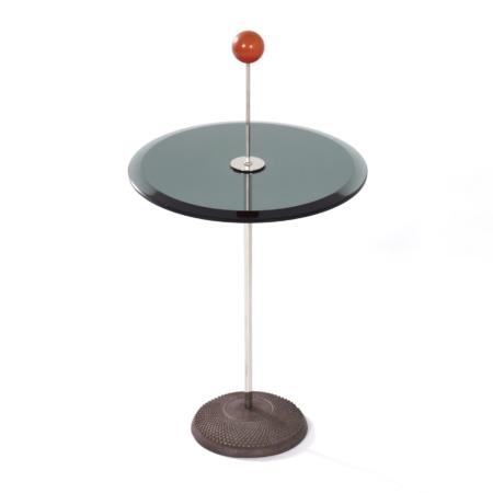 Orio Bijzettafel van Pierluigi Cerri voor Fontana Arte, 1980s | Vintage Design