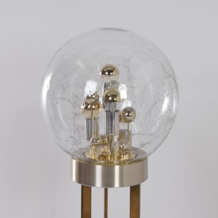 Sputnik Vloerlamp van Doria Leuchten, Duitsland, 1970s