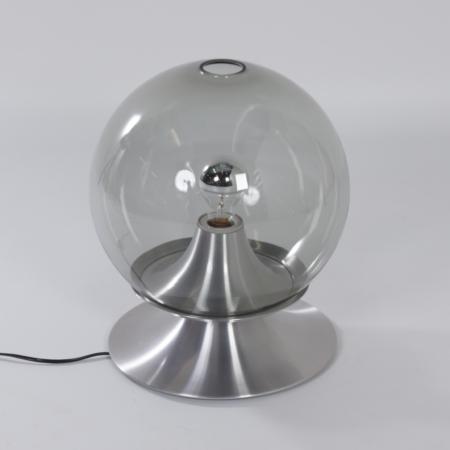 Droomeiland tafellamp van Raak Amsterdam, 1960 – Grote Versie in Transparant Glas