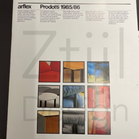 Salontafel Haru van Isao Hosoe & Ann Martinelli voor Arflex, 1980s