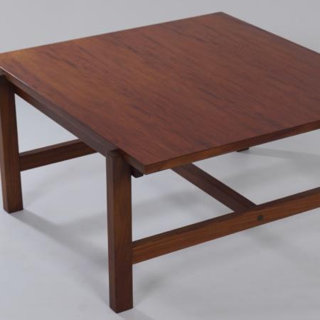 Salontafel TA 07 van Cees Braakman voor Pastoe, 1950s – Omkeerbaar Blad