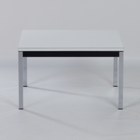 Salontafel van Martin Visser voor 't Spectrum, 1960s – Wit Kunststof Blad