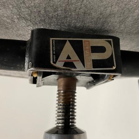 Bureaustoel van Theo Tempelman voor AP Originals, 1970s – Nieuw Leder