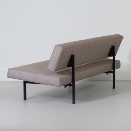 Slaapbank van Gijs van der Sluis, 1960s – Opnieuw Gestoffeerd