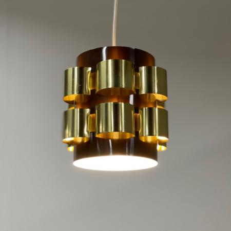 Deense Hanglamp van Werner Schou voor Coronell Elektro, 1970