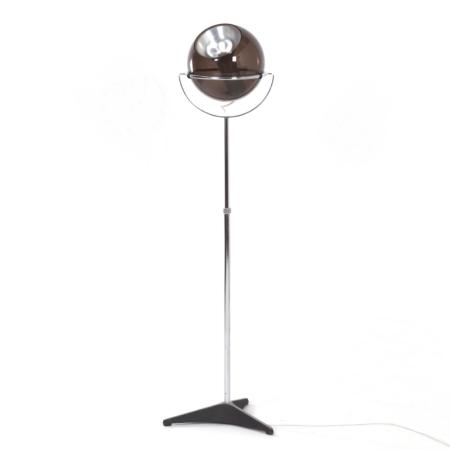 Raak Globe Vloerlamp van Frank Ligtelijn, 1960s – 1e editie | Vintage Design