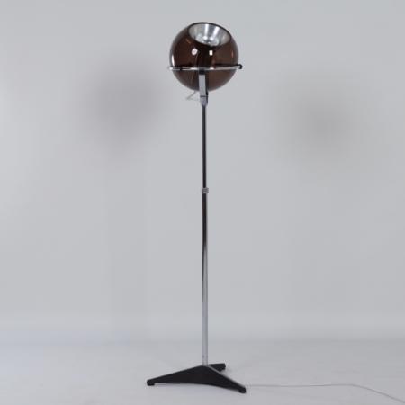 Raak Globe Vloerlamp van Frank Ligtelijn, 1960s – 1e editie