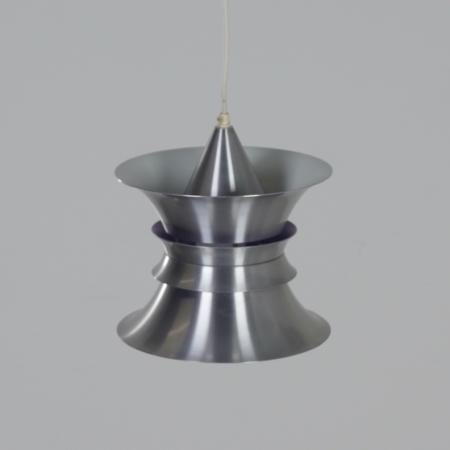Deense Aluminium Hanglamp van Frandsen Lyskilde, 1990's