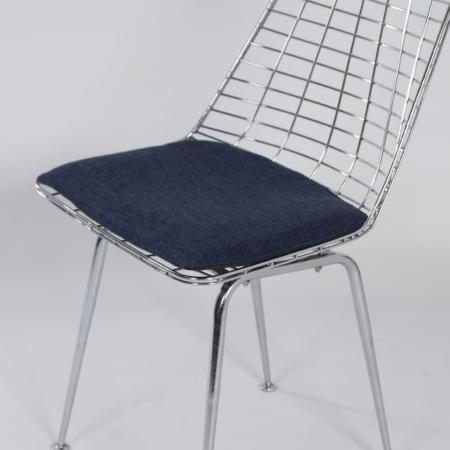 Flamingo Draadstoelen van Braakman en Dekker voor Pastoe, 1960s – Set van 4