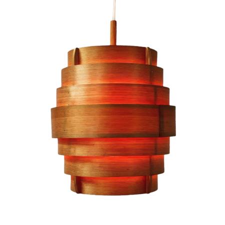 Zweedse Hanglamp van Hans Agne Jakobsson voor Ellysett, 1950s | Vintage Design