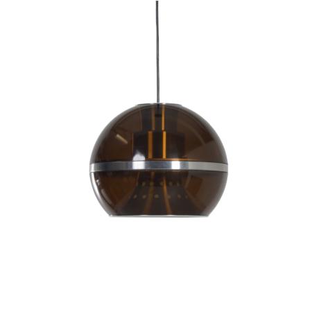 Grote Globe Hanglamp van Dijkstra Lampen, 1970s | Vintage Design