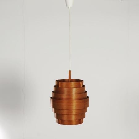 Zweedse Hanglamp van Hans Agne Jakobsson voor Ellysett, 1950s