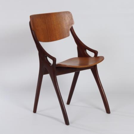 Teak Eetkamerstoelen van Hovmand Olsen voor Mogens Kold, 1960s – Set van 4