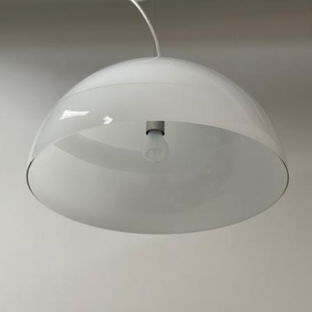 Glazen Murano Hanglamp Ciompo van Vistosi Italië, 1970s